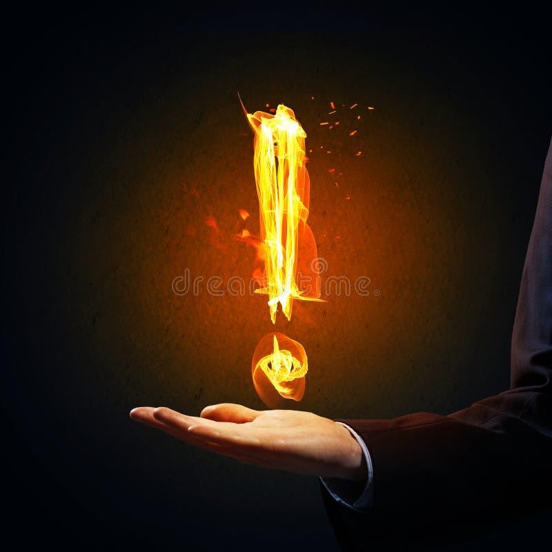 Pożarnicza okrzyk ocena obraz stock