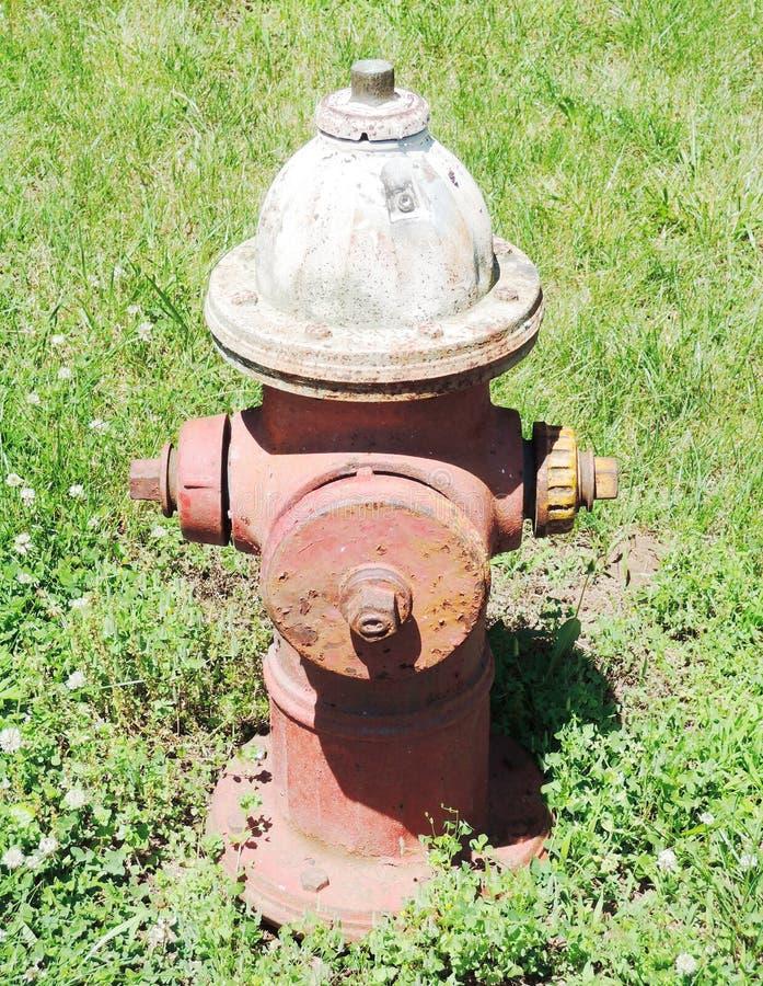 pożarniczego hydranta stara czerwień zdjęcia royalty free