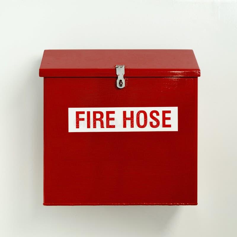 Pożarniczego węża elastycznego pudełko zdjęcia royalty free