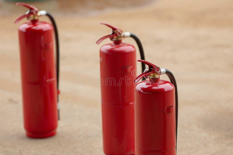 Pożarniczej ochrony wyposażenie, Pożarniczy gasidło na tramwaju, industr fotografia royalty free