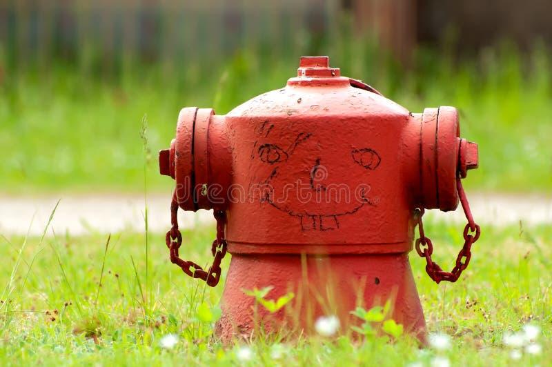 pożarniczy śmieszny hydrant obrazy royalty free