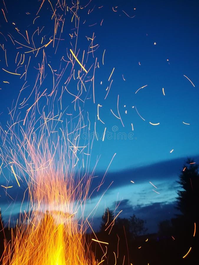 Pożarniczy świetliki obrazy stock