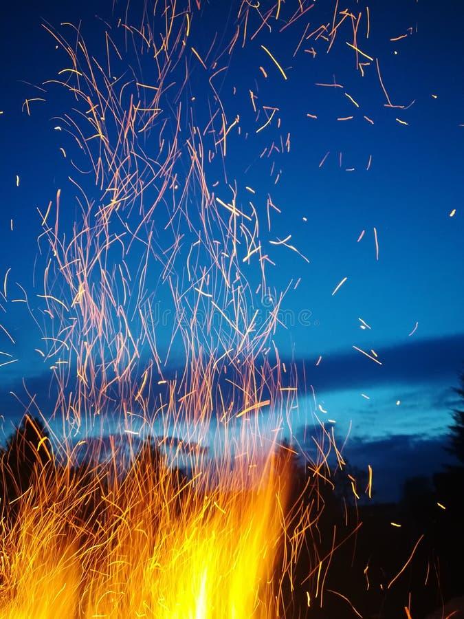 Pożarniczy świetliki fotografia stock