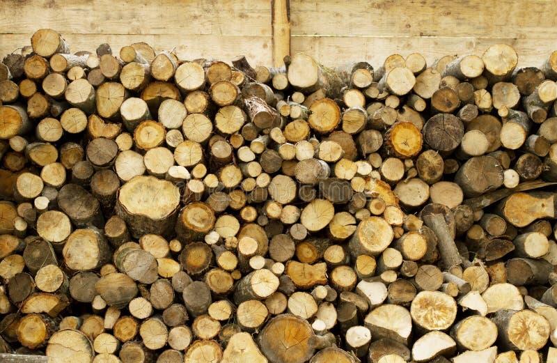 Pożarniczy drewniany stajnia szczegół fotografia stock