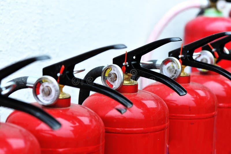 pożarniczy gasidła przenośne urządzenie zdjęcie royalty free