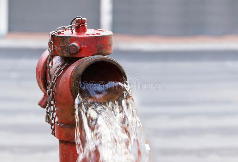 Pożarniczy hydranty obrazy stock