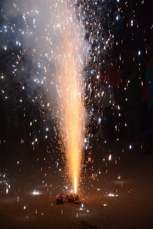 pożarniczy krakers zdjęcie royalty free