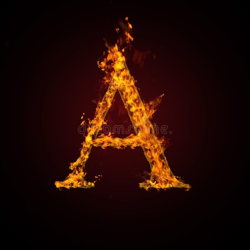 pożarniczy list ilustracji
