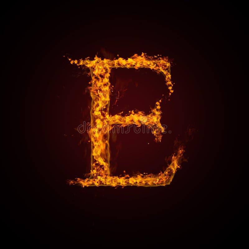 pożarniczy list ilustracja wektor