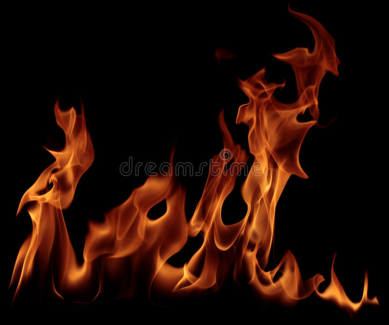 pożarniczy płomień zdjęcie royalty free
