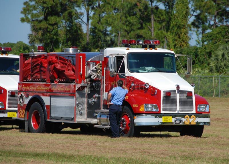 pożarniczy ratunek zdjęcia stock