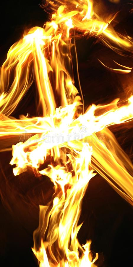 Pożarniczy skutek fotografia stock