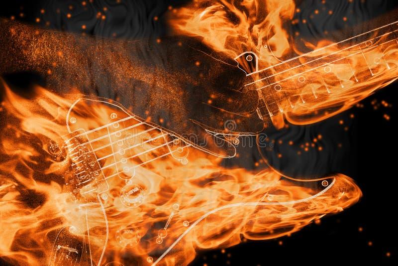 pożarniczy sznurki ilustracja wektor