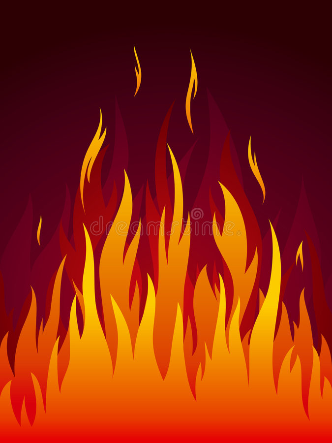 pożarniczy wektor royalty ilustracja