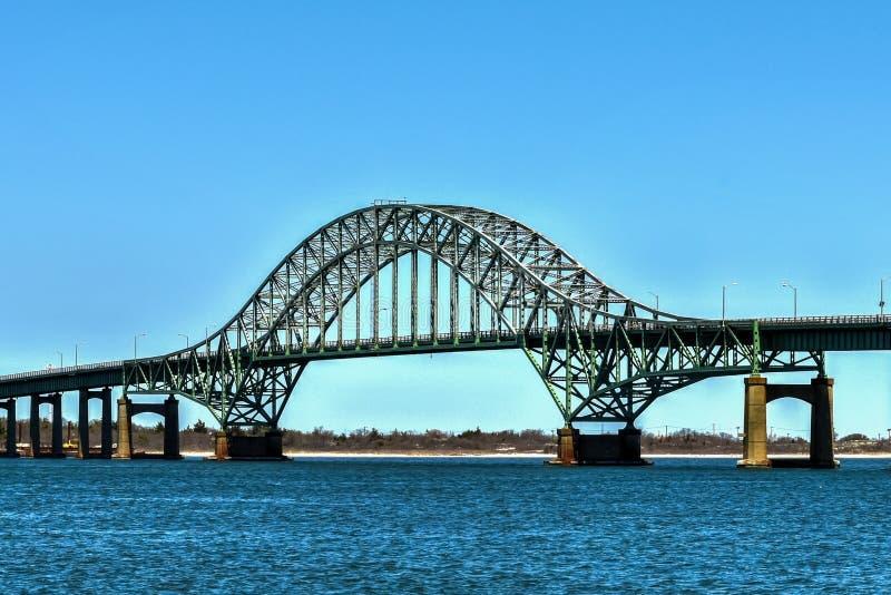 Pożarniczy wyspa wpusta most obraz royalty free