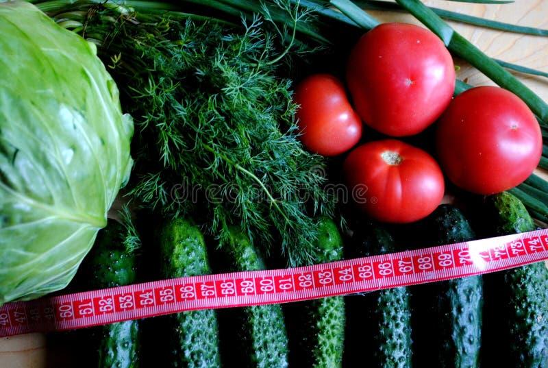 Pożytecznie warzywa dla ciężar straty 2 obrazy stock