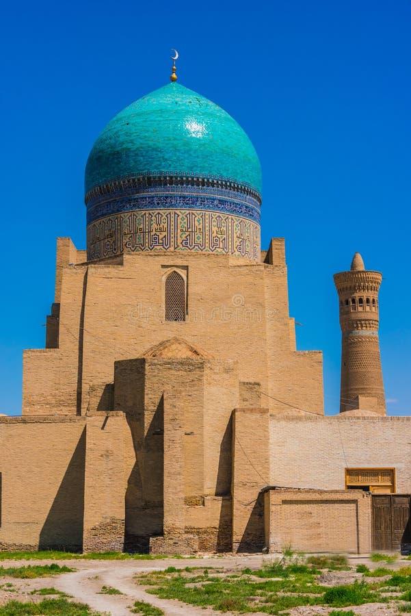 Po-ι-Kalan ή POI Kalan σύνθετο στη Μπουχάρα, Ουζμπεκιστάν στοκ φωτογραφίες