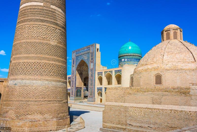 Po-ι-Kalan ή POI Kalan σύνθετο στη Μπουχάρα, Ουζμπεκιστάν στοκ φωτογραφία με δικαίωμα ελεύθερης χρήσης