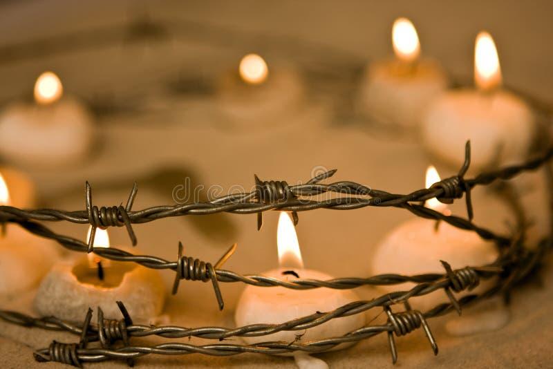 Download Pożarnicza nadzieja zdjęcie stock. Obraz złożonej z candlelight - 7432504