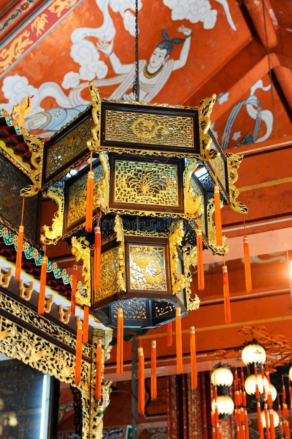 Po Lin Monastery, Hong Kong stock image