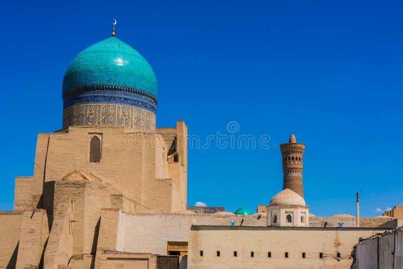 po lub Poi Kalan kompleks w Bukhara, Uzbekistan fotografia royalty free