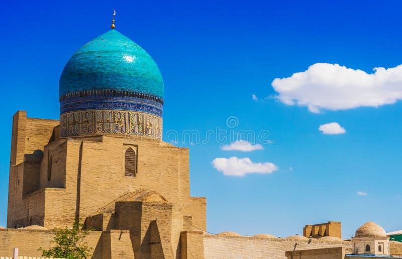 po lub Poi Kalan kompleks w Bukhara, Uzbekistan fotografia stock