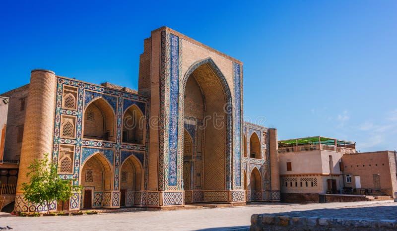 po lub Poi Kalan kompleks w Bukhara, Uzbekistan zdjęcia royalty free