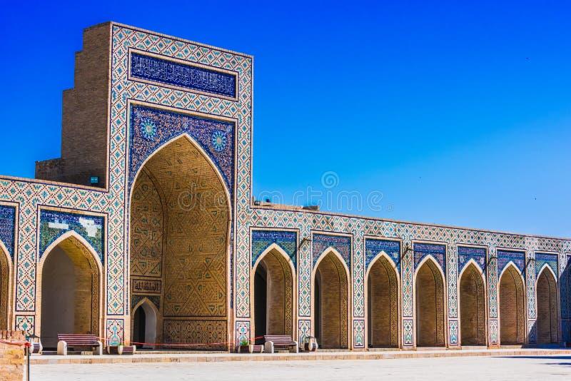 po lub Poi Kalan kompleks w Bukhara, Uzbekistan obraz royalty free