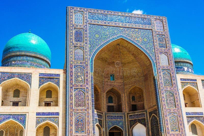 po lub Poi Kalan kompleks w Bukhara, Uzbekistan obrazy royalty free