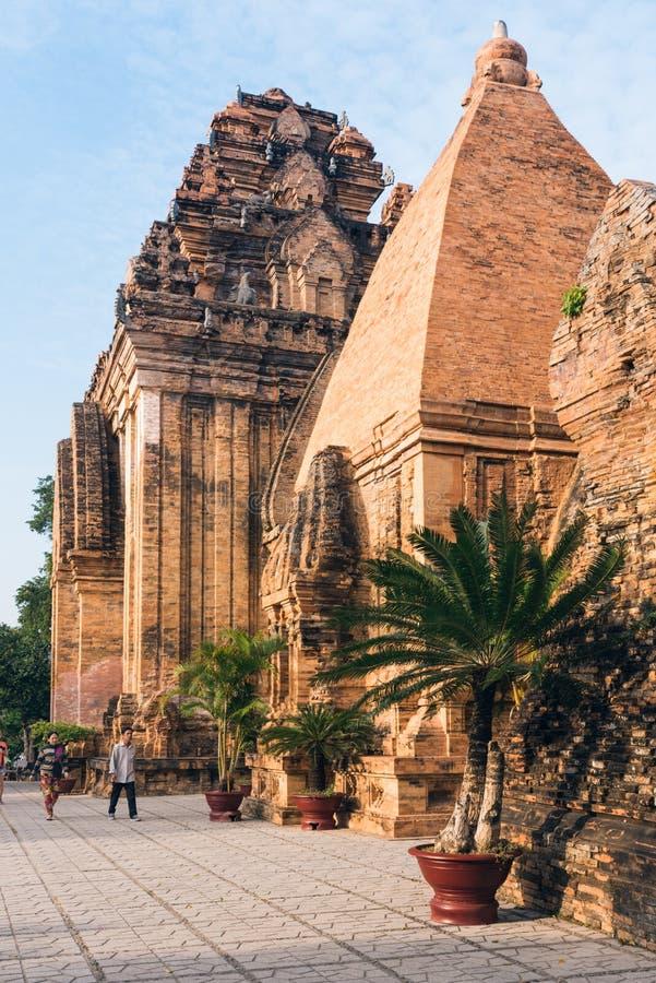 Po Ngar可汗塔在Nha Trang 免版税库存图片