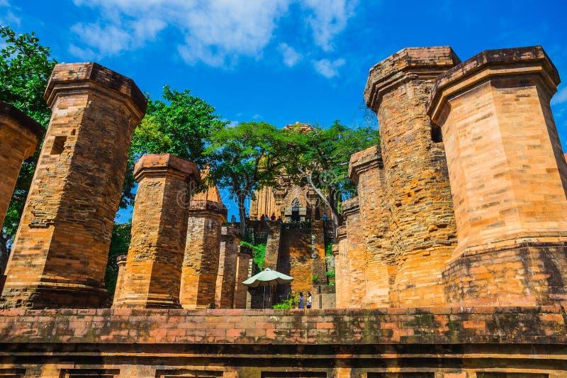 Po Ngar Cham πύργοι σε Nha Trang, Βιετνάμ, στοκ εικόνα με δικαίωμα ελεύθερης χρήσης