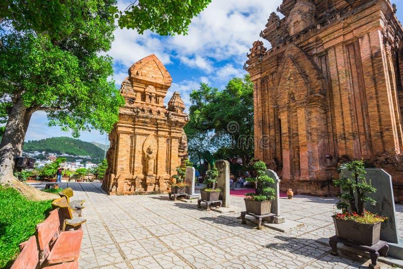 Po Ngar Cham Towers in Nha Trang, Vietnam, royalty free stock image