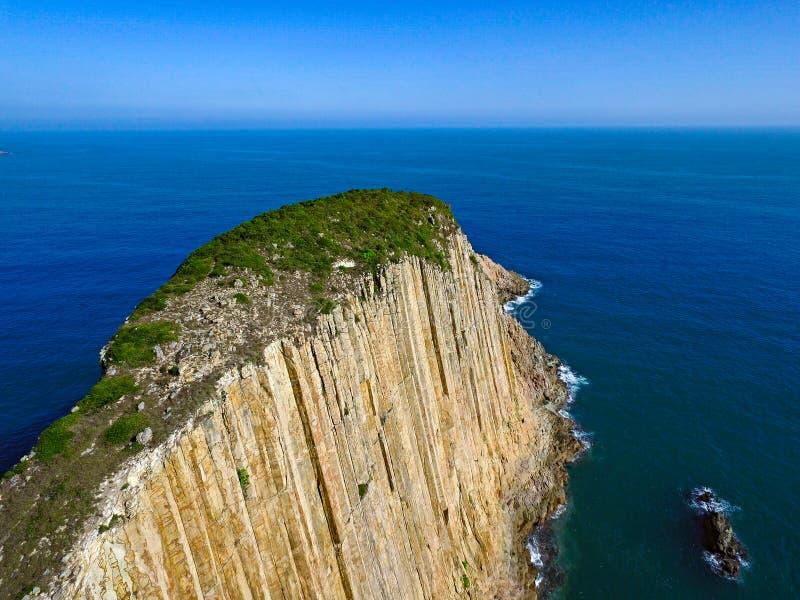 Po Pin Chau, Saikung Hong Kong fotografie stock libere da diritti