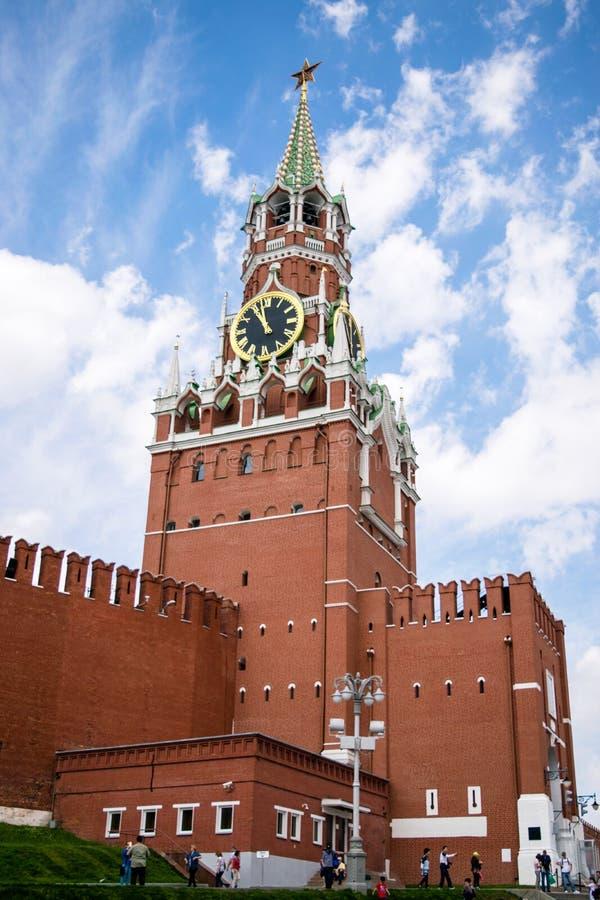 po południu 2005 obszaru czerwonym Kremla lato zdjęcia royalty free