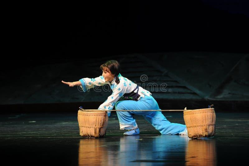 Po spadku od ziemi w górę Jiangxi opery bezmian zdjęcia royalty free