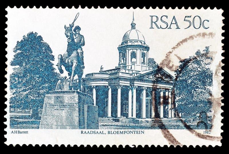 Po?udniowa Afryka na znaczkach pocztowych obrazy stock