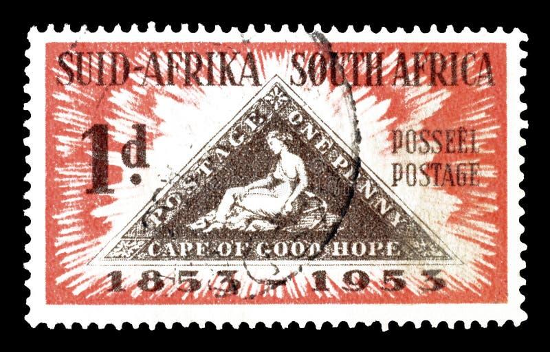 Po?udniowa Afryka na znaczkach pocztowych obrazy royalty free