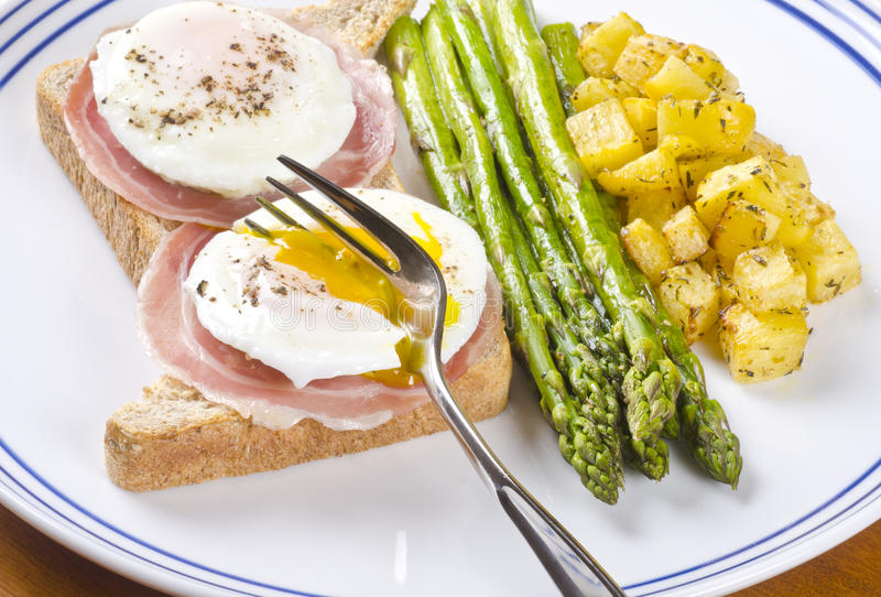 Download Poached Eggs Series #4 stock image. Image of meal, time - 25232023