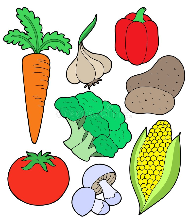 pobieranie vegatable ilustracja wektor