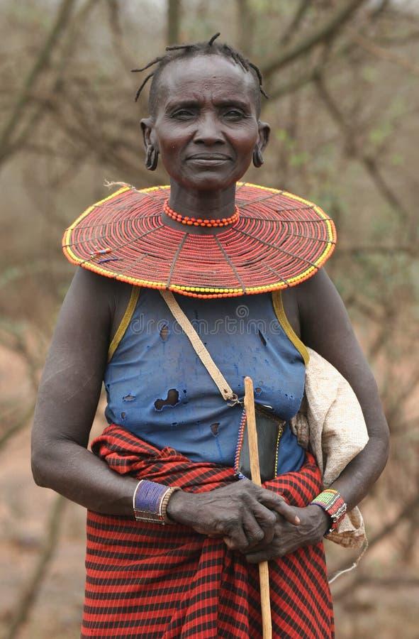 Población de África fotografía de archivo