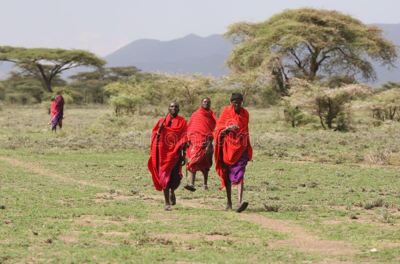 Población de África imagen de archivo