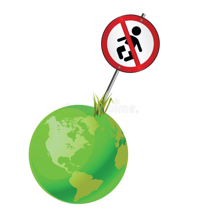 Población global stock de ilustración