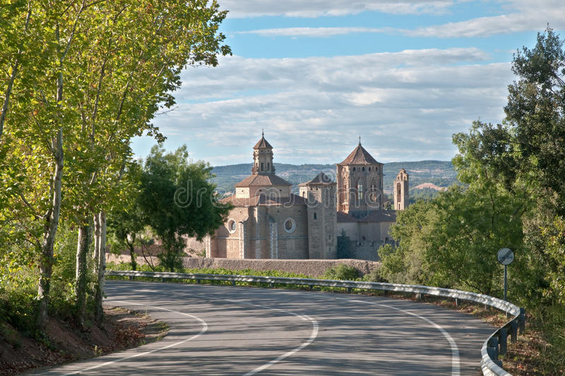 Poblet Monastery stock photography
