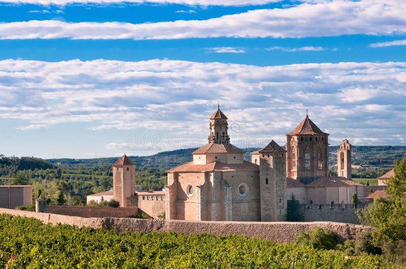 Poblet monastery, Spain royalty free stock photo