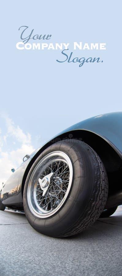 Poborcy samochodowy koło obrazy royalty free