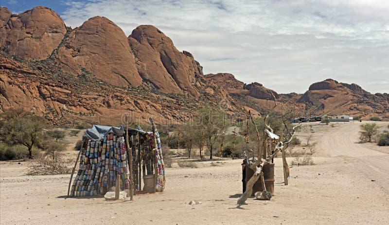 Pobreza en África imagenes de archivo