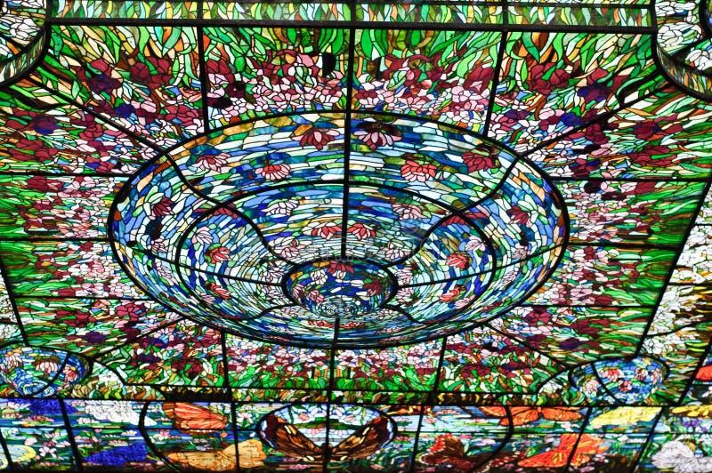 pobrudzony Mexico szklany xcaret zdjęcia stock