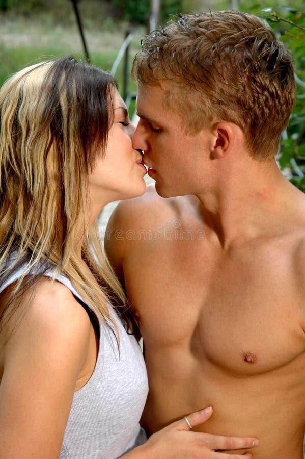 pocałunek przetargu fotografia stock