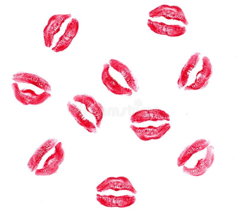 pocałunki. royalty ilustracja