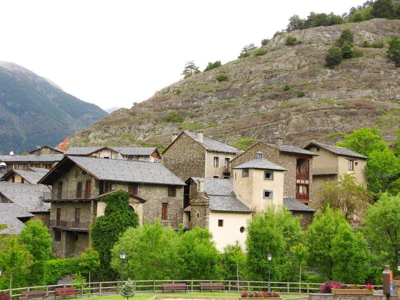 Poca aldea foto de archivo